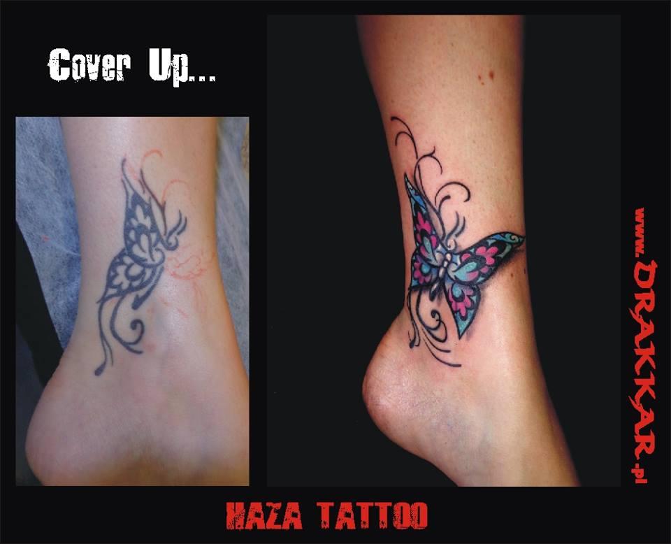 cover up tatuażu, Gliwice