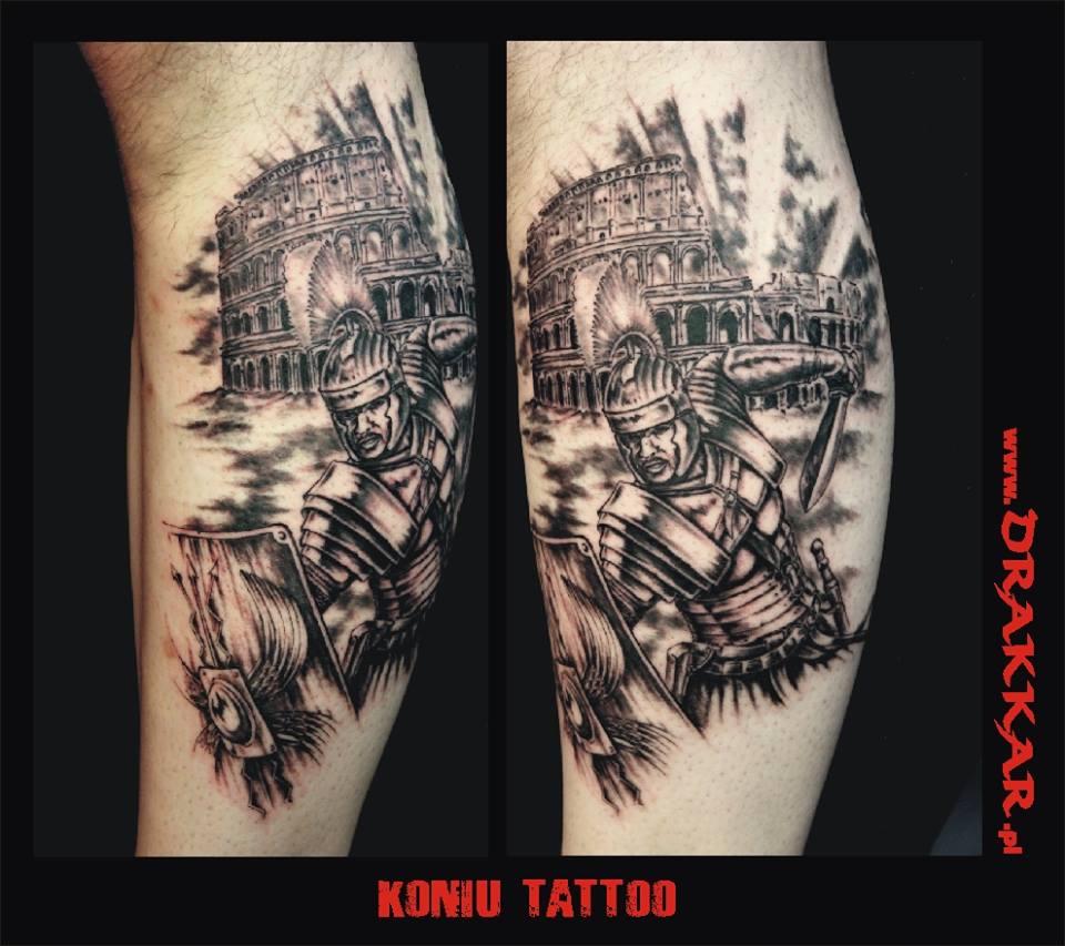 przykład wykonanych tatutaży