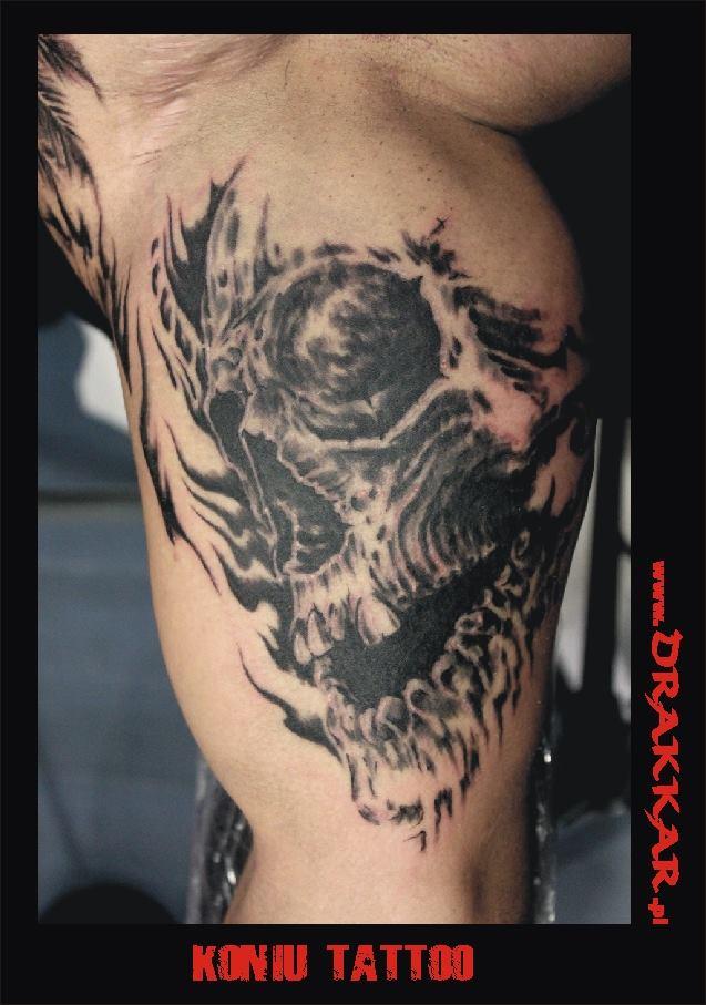 tatuaż, studio Drakkar