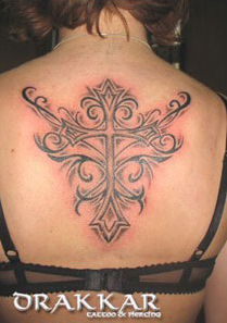 tatuaż, studio tatuażu Drakkar