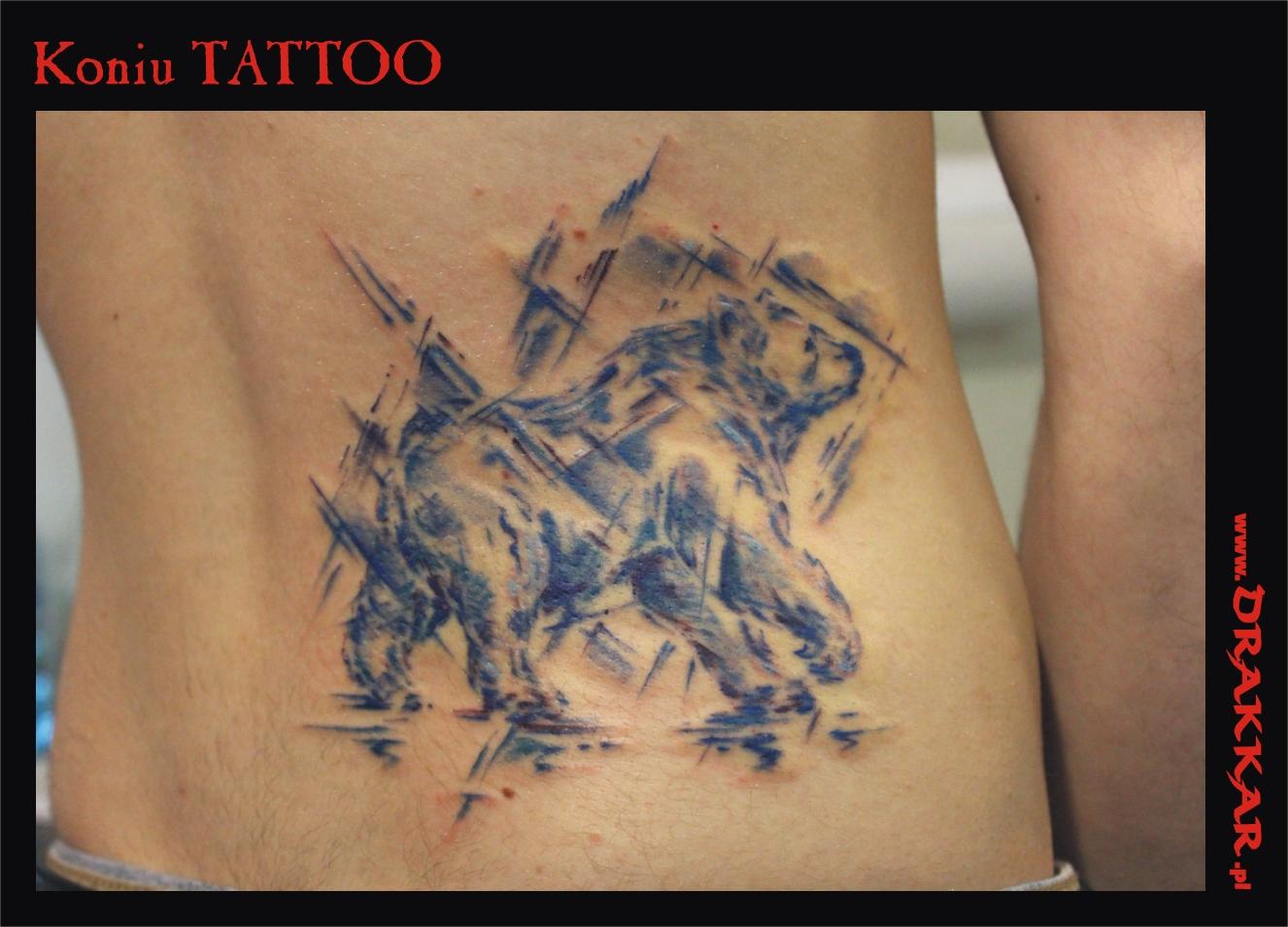 motyw zwierzęcy, studio tatuażu Drakkar