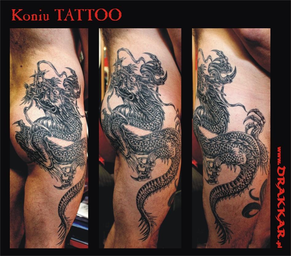 tatuaż smok, Gliwic