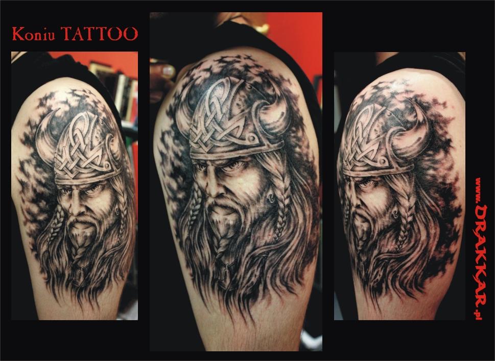 tatuaż wiking, Gliwice