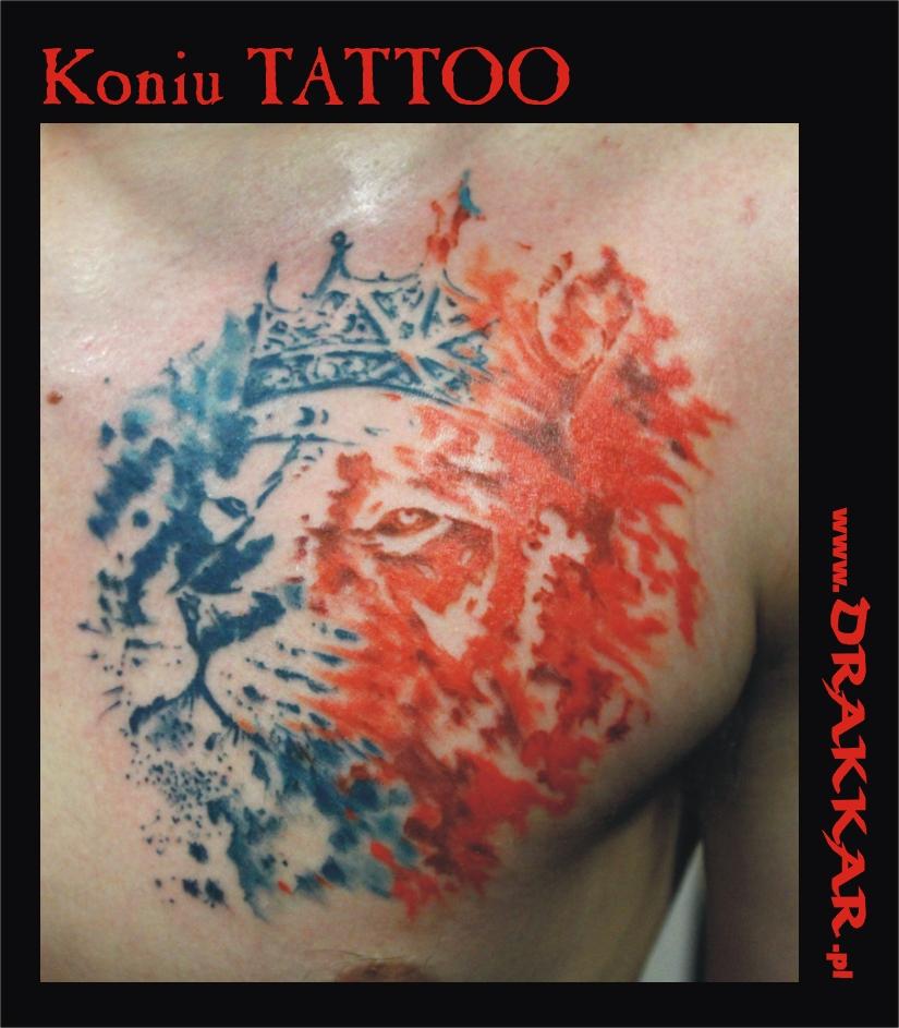 tatuaż z motywem zwierzęcym, Śląsk