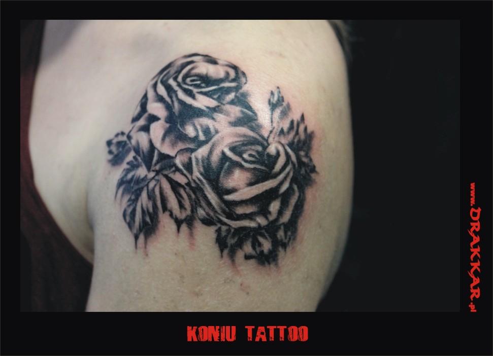 Tatuaż z różą, Gliwice