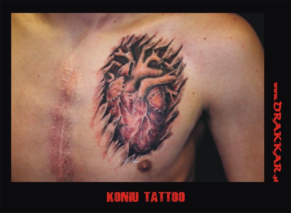 Koniu Tatoo, studio tatuażu Drakkar, Gliwice