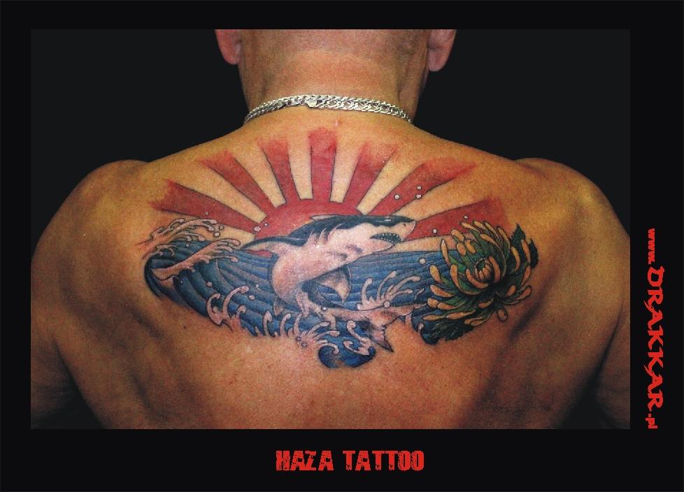 Haza, studio tatuażu Drakkar, Śląsk